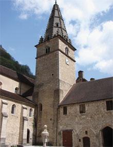 Église abbatiale Saint-Pierre de Baume-les-Messieurs (Jura)