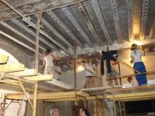 Le chantier-école du château de Rosières en images !