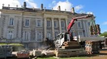 Restauration du château de Kerlevenan