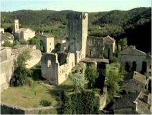 Château de Montclus (Gard)